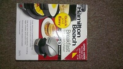 hamilton Beach Quick and Easy Breakfast Sandwich Maker