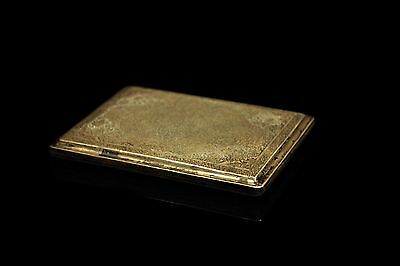 Antique Original Perfect Silver Persian Hand Craft Cigarette Case