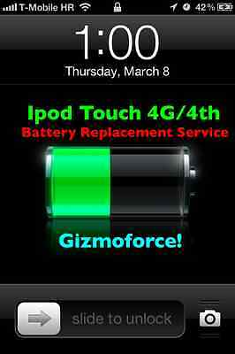 Ipod Touch 4g 4th Battery Replacement Service