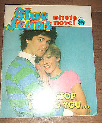 Blue Jeans Photo Novel, No. 2, Early 1980's, Fab For Collector