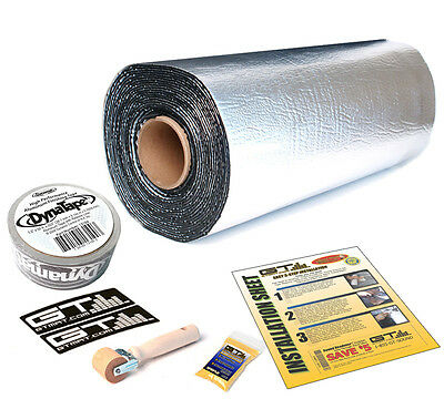 GTMat Ultra 80mil Bulk Pack 50sqft Audio Sound Deadener w/ DynaTape & GT roller