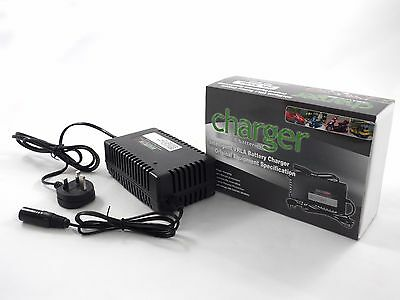 Automatic 3 Stage Mobility Battery Charger 24V 5A Connect and Forget