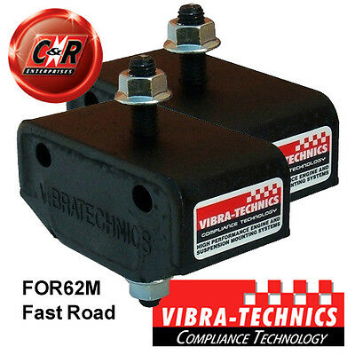 2 x Ford Fiesta MK1 Vibra Technics Transmission Mounts - Fast Road FOR62M