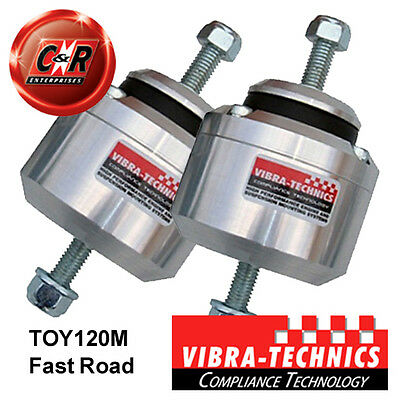 2 x Toyota Soarer Mk3 91-00 Vibra Technics Engine Mounts - Fast Road TOY120M