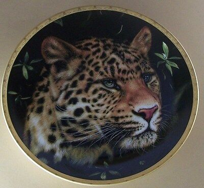 Big Cats of the World Plate Collection CHINESE LEOPARD Lenox Big Cat
