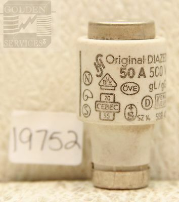 Original  Diazed 5SB 42 Bottle Fuse 500V 50A (Black Label)