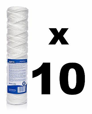 "10 x 10 micron sediment filter string-wound 10"",water filter,Reverse osmosis,RO."
