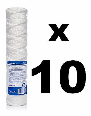 """10 x 100 micron sediment filter string-wound 10"""",water filter,Reverse osmosis,RO"""