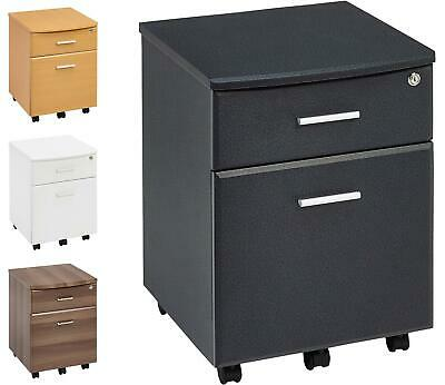 Two Drawer A4 Suspension Filing Pedestal w Lock Home Office Piranha Blenny PC 10