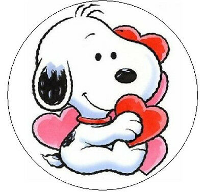 """~SNOOPY VALENTINES~  1"""" Sticker / Seal Labels!"""