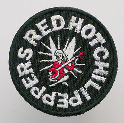RED HOT CHILLI PEPPERS - Embroidered Iron-On Music Patch - MIX 'N' MATCH - #3E02