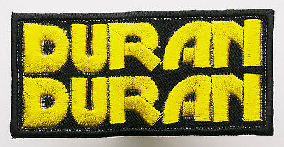 DURAN DURAN - Embroidered Iron-On Band Music Patch - MIX 'N' MATCH - #6E09