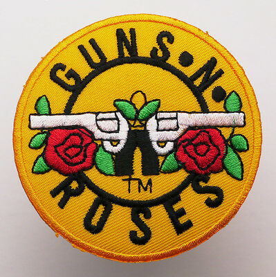 GUNS N' ROSES - Embroidered Iron-On Band Music Patch - MIX 'N' MATCH - #7E02