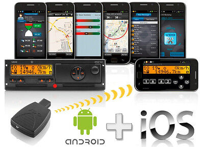 DTCO® Rel. 1.3 - 2.2 SmartLink Smart Link Pro 1981-2000000101 Android iPhone IOS