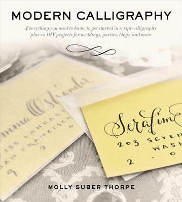 Modern Calligraphy - Mallory Suber Thorpe (Paperback) New