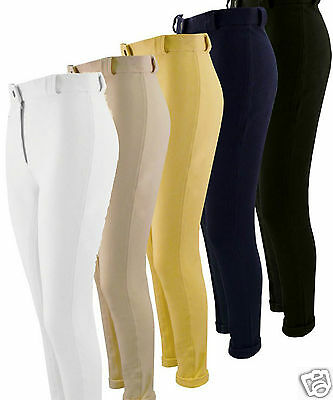 Ladies Plain Jodhpurs Horse Riding Jodphurs All Colours & Sizes