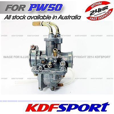 Kdf Carburetor Carby Pw Py Engine Parts Main Jet For Yamaha Py50 Pw50 Peewee 50