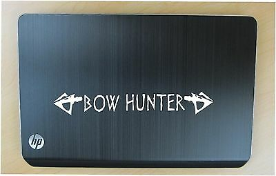 Bow hunter decal in 7 colors