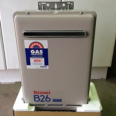 Rinnai Builders B26 Instant Hot Water System for Natural Gas  50 ° Model