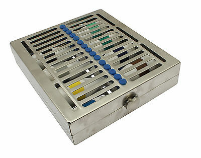 Sterilisation Cassette Tray for Surgical Dental Vet Related 15 Instruments