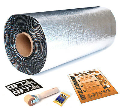 NEW GTMAT Ultra 80mil Thick 20 SqFT Discount Sound Deadener Roll Mat