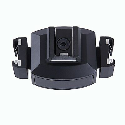 Movo HVA30 Triple Video Bracket for DSLR Camera Hot Shoe Light/Microphone/Flash