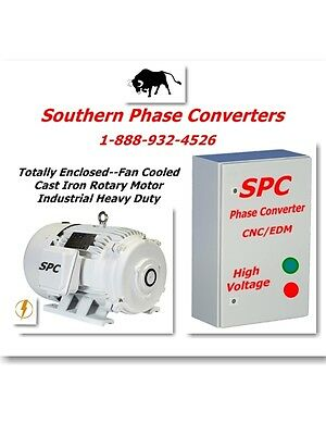 20 HP Rotary Phase Converter CNC