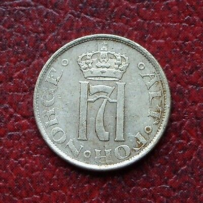Norway 1918/7 silver 10 ore