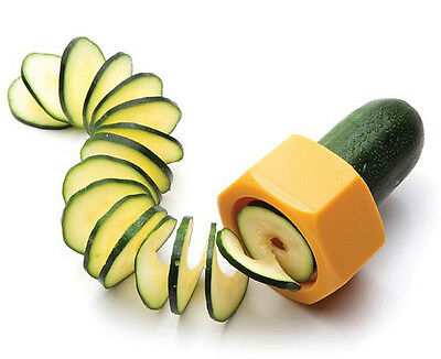 Yellow Cucumbo Vegetable Sharpener / Curler by Luckies of London