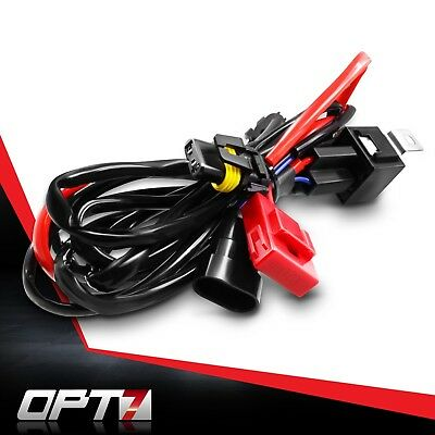 OPT7 HID Anti-Flicker Power Harness Relay Wiring for OPT7 Xenon Kits