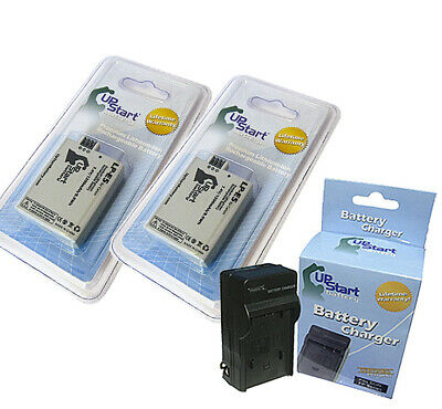 2x Battery+Charger for Canon LP-E5 EOS Digital Rebel XSi 450D LC-E5 1000D 500D