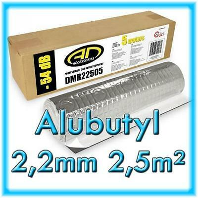 Alubutyl 2,2mm Rolle Audio Design Installation DMR22505 Silent Coat 2,5m²
