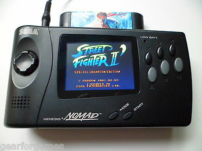 Sega Nomad Lcd Mod Service. Price For New Modern Lcd Fitted To Your Own Console