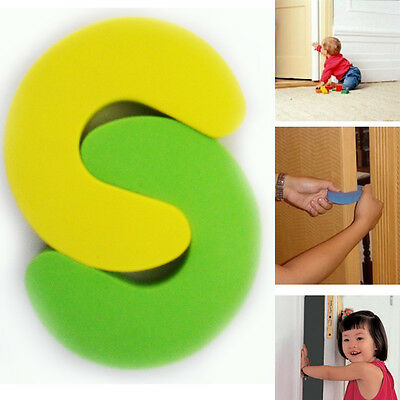 Baby Safety 2pcs Door Stopper Foam Finger Protector Slam Door Guard Child Safety