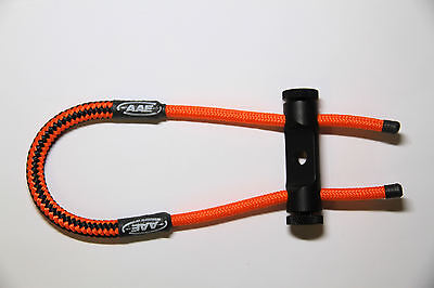 Aae Archery  Hot Rodz Hr Sling Black/orange- The Ultimate Bow Sling!!!!