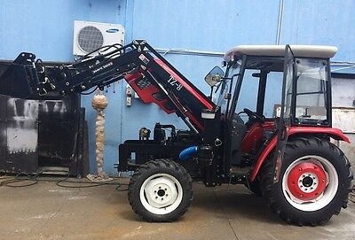 Tractors farming 60 HP Brand New with Implements
