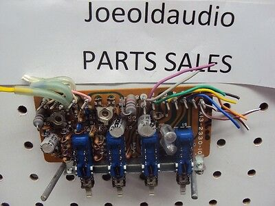 Kenwood KR 9600 Switchboard X13-2330-1O 4 Switches. Tested Parting Out KR 9600