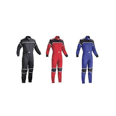 OMP Blast Mechanics / Garage / Workshop Adult Cotton / Polyester Overalls/Suit