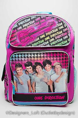 1D One Direction Collectible Large Group BackpackNIAL LOUISLIAMHARRYZAYN