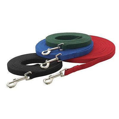 Dog Training Lead Leash 6, 15, 20, 30 or 50 ft obedience NEW