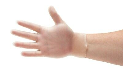 Vinyl Powder-Free Medical Exam Gloves 5 Mil Thick Small Medium Large & X-Large