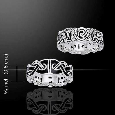 Mammen Weave Silver Ring TRI566