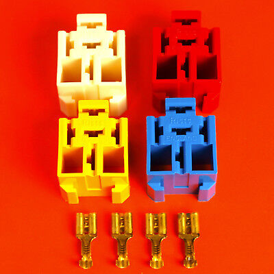 4 x Relay Base Holder By Lucas Rist + 20 Terminals-Suitable 4/5 Pin Relay