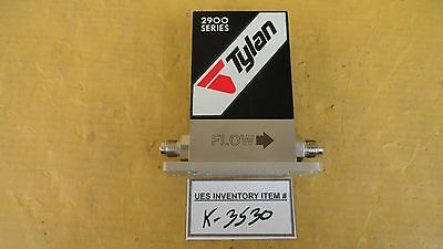 Tylan FC-2900V Mass Flow Controller 200 SCCM SF6 Used