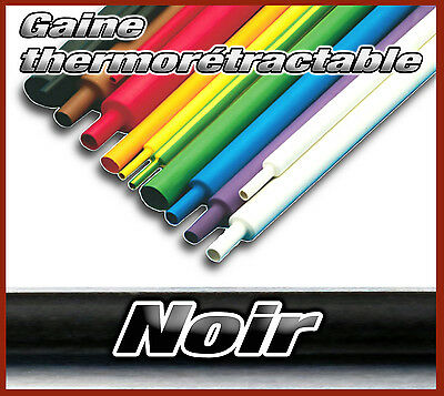 gaine thermo rétractable 1 - 1,5 -1,6 - 2 - 2,5 - 3,5 - 5- 7 - 9 - 12 - 14 -16mm