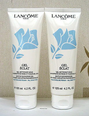 Lancome Gel Eclat 2 x 125ml - Sealed - UK FREEPOST
