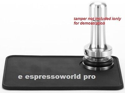 Original New Exclusive Rubber Tamping Mat For Coffee Espresso Machine