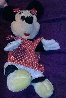 WOW cool Disneyland EXCLUSIVE Vintage 1970's  Plush Minnie Mouse RARE FIND!!!