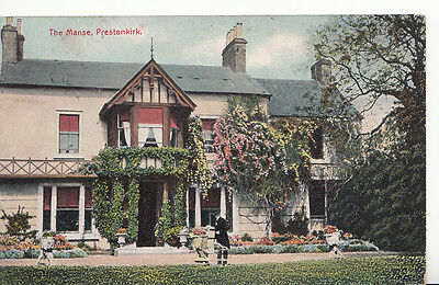 Scotland Postcard - The Manse, Prestonkirk    A5191