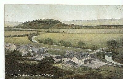 Stirlingshire Postcard - From The Trossachs Road - Aberfoyle  2780